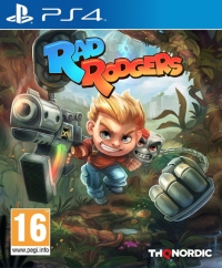 Rad Rodgers: World One Box Art