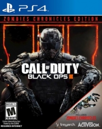 Call of Duty: Black Ops III (Zombies Chronicles Edition) Box Art