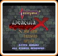 Castlevania Dracula X Box Art