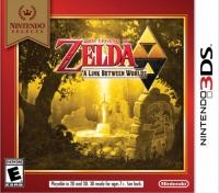 Legend of Zelda, The: A Link Between Worlds - Nintendo Selects Box Art