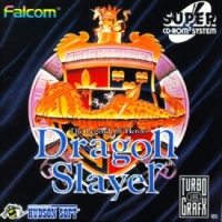 Dragon Slayer: The Legend of Heroes Box Art
