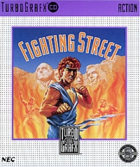 Fighting Street Box Art