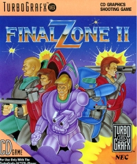 Final Zone II Box Art