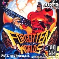 Forgotten Worlds Box Art