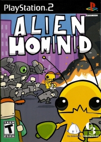 Alien Hominid Box Art