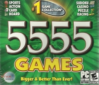 5555 Games: Bigger & Better Than Ever! Box Art