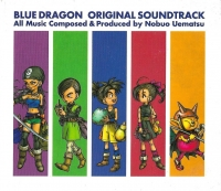 Blue Dragon: Original Soundtrack Box Art