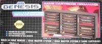 A.L.S. Industries Sega Genesis Game Cartridge Organizer S-24 (grid label) Box Art