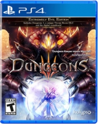 Dungeons III - Extremely Evil Edition Box Art