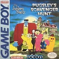 Addams Family, The: Pugsley's Scavenger Hunt Box Art