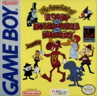 Adventures of Rocky & Bullwinkle and Friends, The Box Art