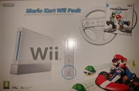 Nintendo Wii - Mario Kart Wii Pack (White) [DK][FI][NO][SE] Box Art