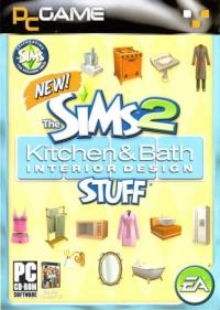 Sims 2, The: Kitchen & Bath Interior Design Stuff [IN] Box Art