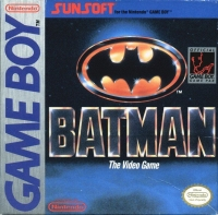 Batman: The Video Game Box Art