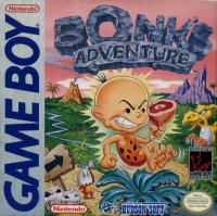 Bonk's Adventure Box Art