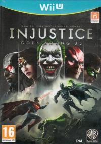 Injustice: Gods Among Us [UK][FR] Box Art