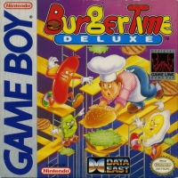 BurgerTime Deluxe (Data East) Box Art