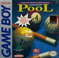 Championship Pool Box Art