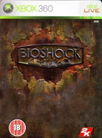 BioShock - Steelbook Edition Box Art