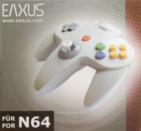 Eaxus Nintendo 64 Controller Box Art