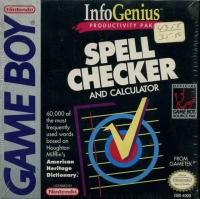 InfoGenius: Spell Checker and Calculator Box Art