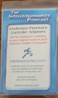 Intellivision Flashback Controller Adaptors Box Art
