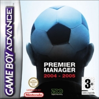 Premier Manager 2004-2005 Box Art