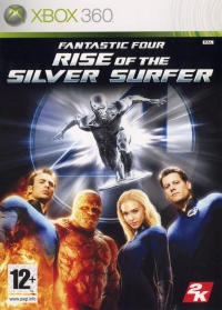 Fantastic Four: Rise of the Silver Surfer Box Art