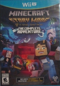 Minecraft: Story Mode - The Complete Adventure [CA] Box Art