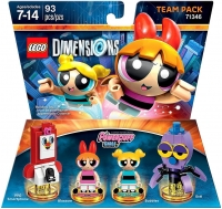 PowerPuff Girls, The - Team Pack (Blossom & Bubbles) [NA] Box Art