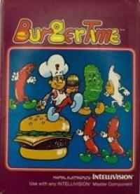 Burger Time Box Art