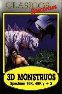 3D Monstruos - Clasicos Box Art