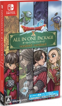 Dragon Quest X: All in One Package version 1-version 4 Box Art