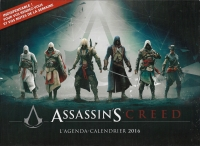 Assassin's Creed L'agenda-Calendrier 2016 Box Art