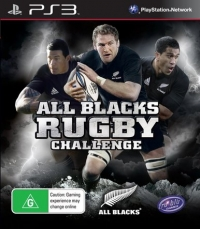 All Blacks Rugby Challenge Box Art