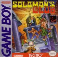 Solomon's Club Box Art