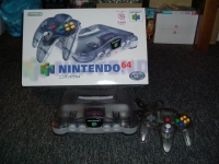 Nintendo 64 - Jusco 30th Anniversary Edition - Grey/White Box Art