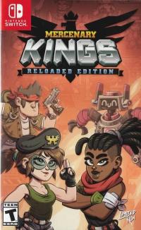 Mercenary Kings: Reloaded Edition (Orange Cover Art) Box Art