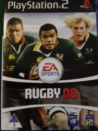 EA SPORTS Rugby 08 Box Art