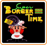 Johnny Turbo's Arcade Super Burger Time Box Art