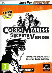 Corto Maltese: Secrets de Venise - Just For Adventure Box Art