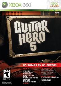 Guitar Hero 5 Box Art