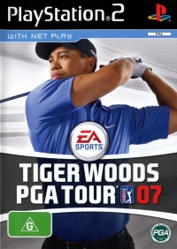 Tiger Woods PGA Tour 07 Box Art