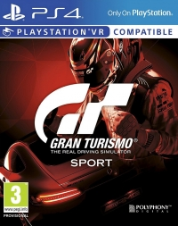 Gran Turismo Sport Box Art