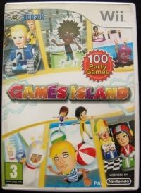 Games Island Box Art