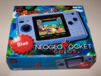 Neo Geo Pocket Color (Blue) Box Art