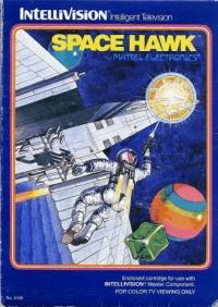 Space Hawk (red label) Box Art