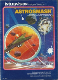 Astrosmash (red label) Box Art