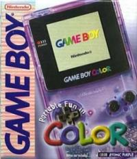 Nintendo Game Boy Color - Atomic Purple [NA] Box Art