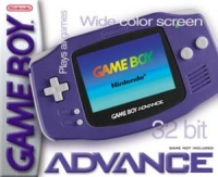 Nintendo Game Boy Advance - Indigo [NA] Box Art